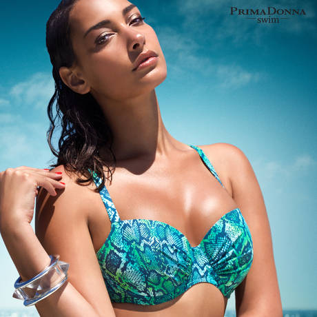 Maillot de bain balconnet rembourré Bora Bora Wavy Blue