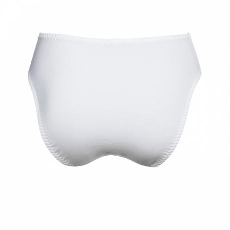 Culotte haute Cécilia Blanc
