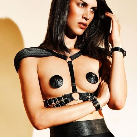 Harnais lingerie Signature Noir