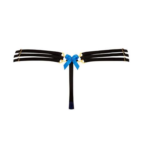 String Magdalena Bleu/Noir