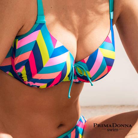 Maillot de bain bikini emboîtant rembourré Smoothie Mermaid
