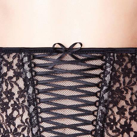 CHANTAL THOMASS Serre-taille porte-jarretelles Vertige Noir