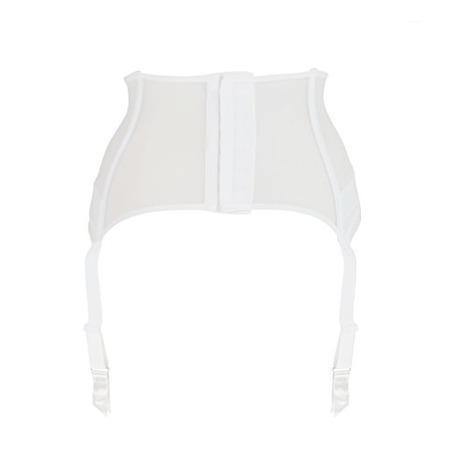 Serre-taille porte-jarretelles Encens'moi Blanc