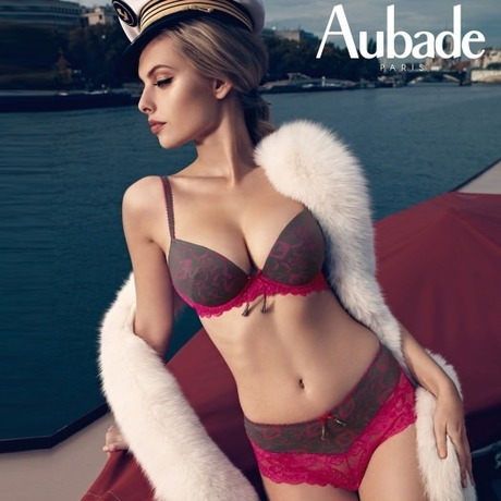 AUBADE Culotte Saint-Tropez Idylle Parisienne Fraisier