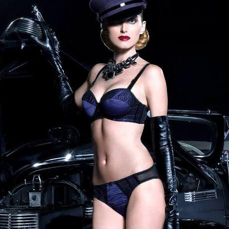 Culotte Parisienne Bleu Noir/Bleu