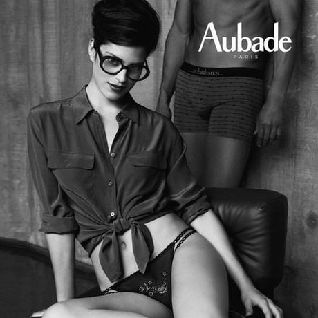 AUBADE Culotte Mini-Coeur Les Sexties d'Aubade London