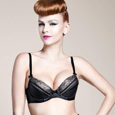 DITA VON TEESE Soutien-gorge push-up Her Sexellency Noir