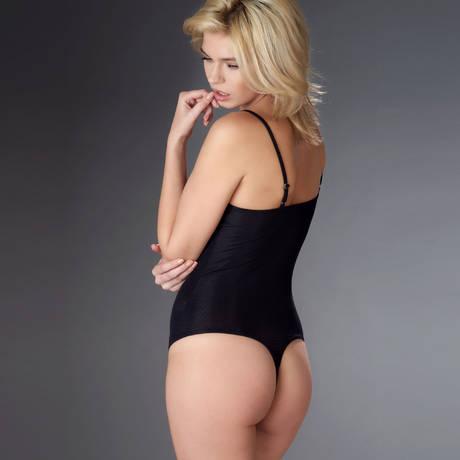MAISON CLOSE Body string Bellevue Noir