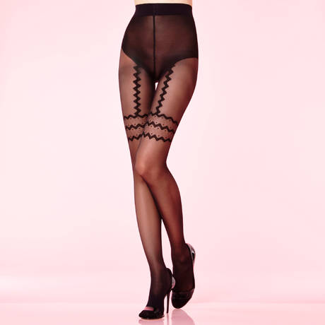 CHANTAL THOMASS Collant Mambolita Les Bas et Collants Noir