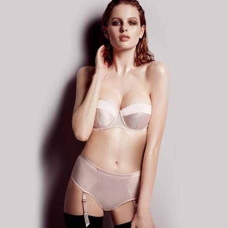 Culotte porte-jarretelles Penelope Nude