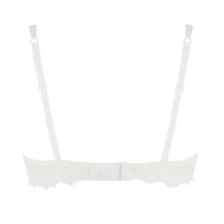 Soutien-gorge corbeille Dressing Floral Blanc