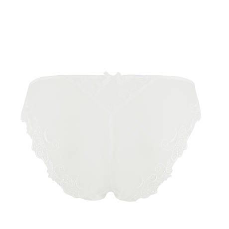 Slip séduction Dressing Floral Blanc