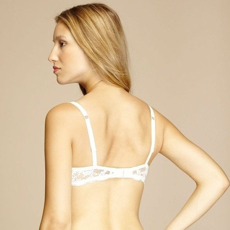 Soutien-gorge coques Piccadilly Ivoire