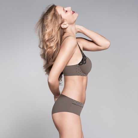 LOU Soutien-gorge push-up Kate Taupe