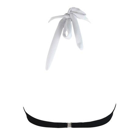 ANTIGEL Maillot de bain bandeau coques La Sporty Naïade Noir/Blanc