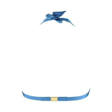 Maillot de bain triangle Iris Bleu
