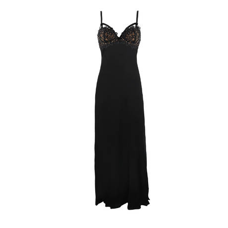 Nuisette longue Black Dahlia Noir