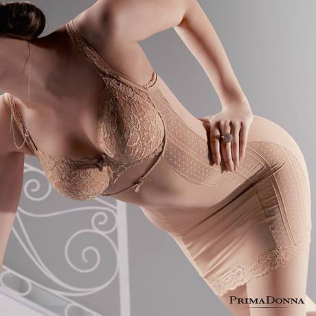 Robe sculptante Couture Crème