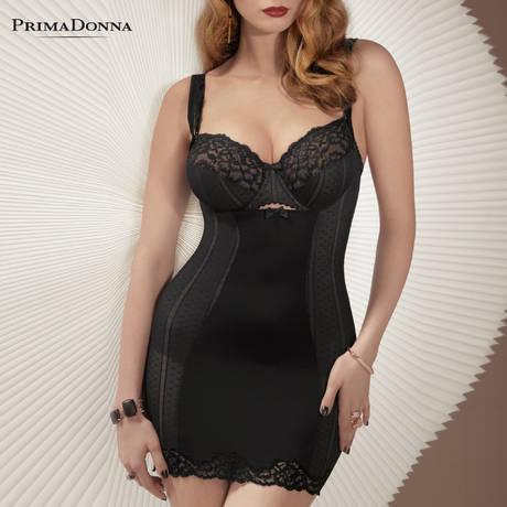 PRIMADONNA Robe sculptante Couture Noir