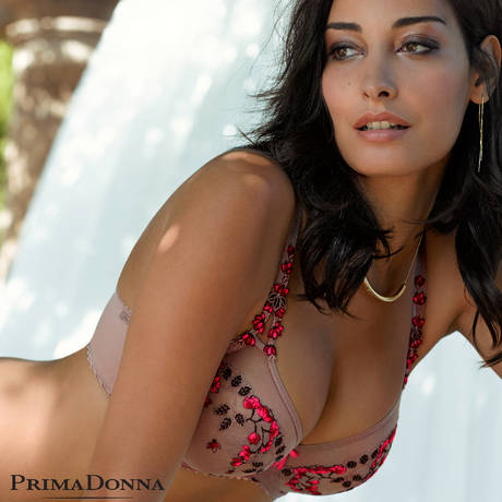 PRIMADONNA Soutien-gorge balconnet coutures verticales First Lady Cosmetic