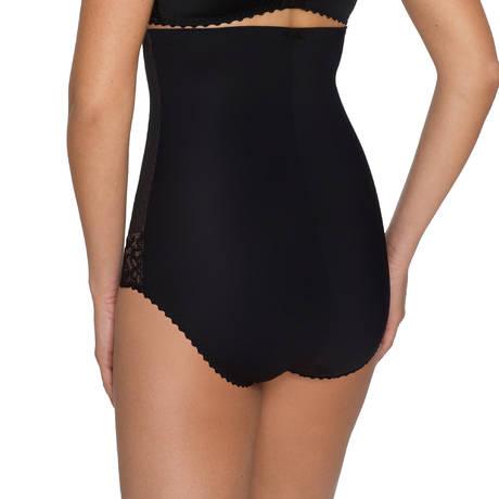 Slip Taille Haute Couture Noir