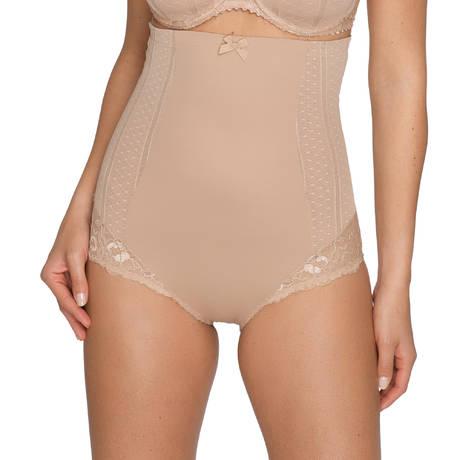 Slip Taille Haute Couture Crème