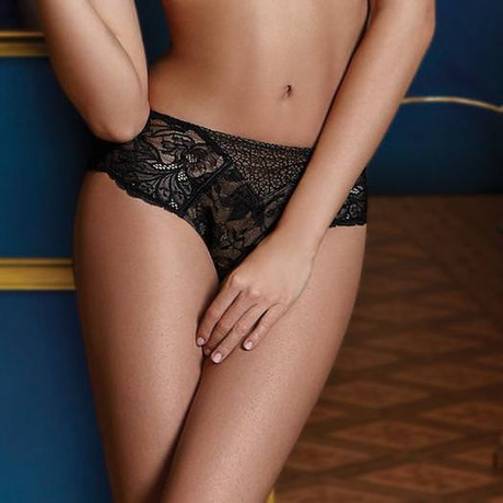 Shorty Suggestion Dentelle Noir