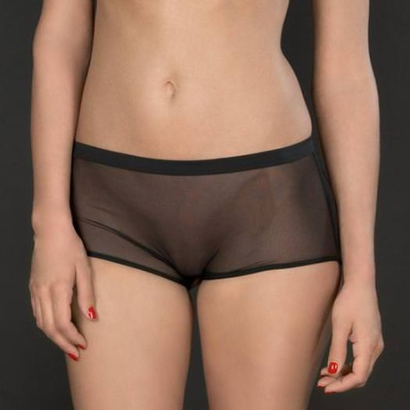 MAISON CLOSE Shorty ouvert Pure Tentation Noir
