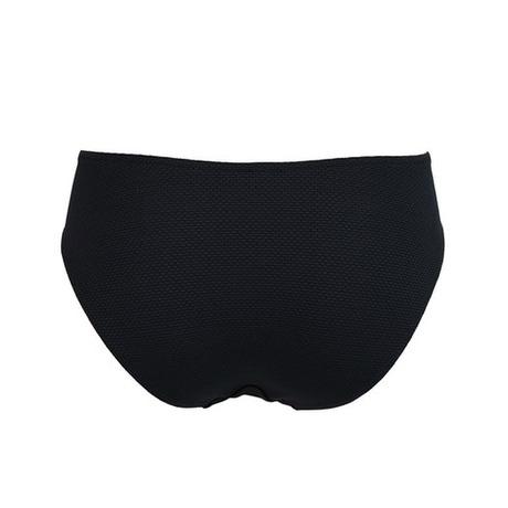 Maillot de bain slip coulisse La Sporty Naïade Noir/Blanc