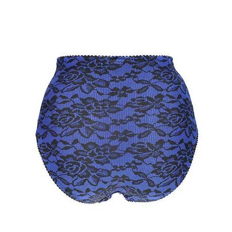 Slip rétro Vamp en Douce Bleu Glam