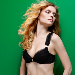 Soutien-gorge plunge Made By Niki Honeycomb