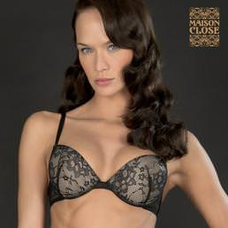 Soutien-gorge push-up Maison Close Villa des Lys