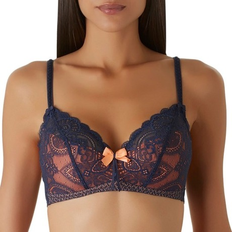 Soutien-gorge triangle Art of Kissing Saphir