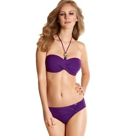 Maillot de bain 2 pièces Venus Elegance Violet