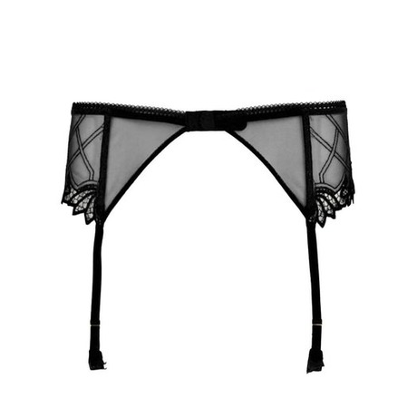 Porte-jarretelles Cirque Lumineux Noir