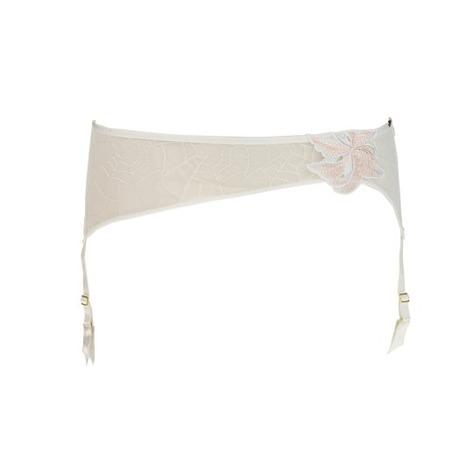Porte-jarretelles Spot Mystique Blanc