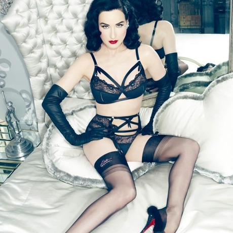 Porte-jarretelles Madame X Noir