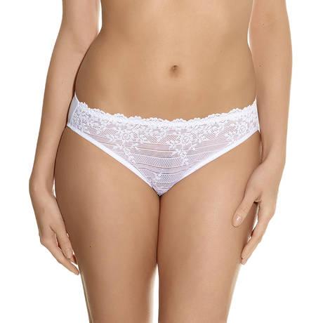 Slip Embrace Lace Blanc