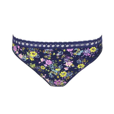 Slip brésilien Flower Fever Blue Ivy