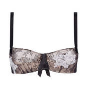 Soutien-gorge bandeau demi-mousse Chantal Thomass Tombeuse