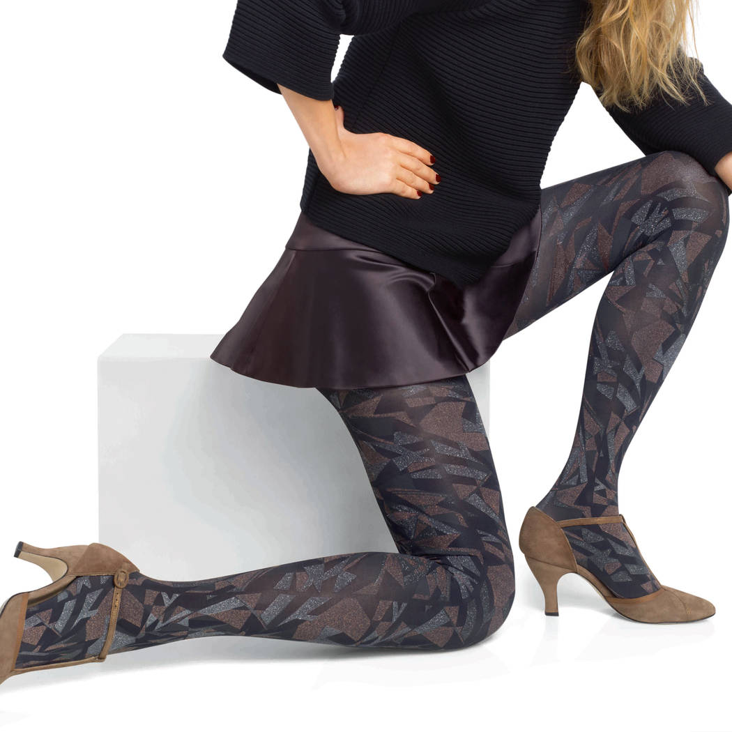LE BOURGET Collant Craft 50D Fashion Bleu