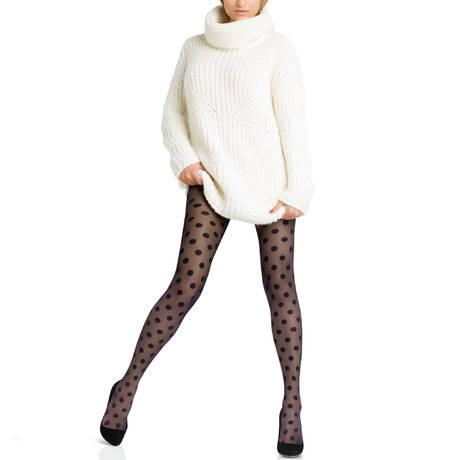Collant Légendaire 20D Couture Noir