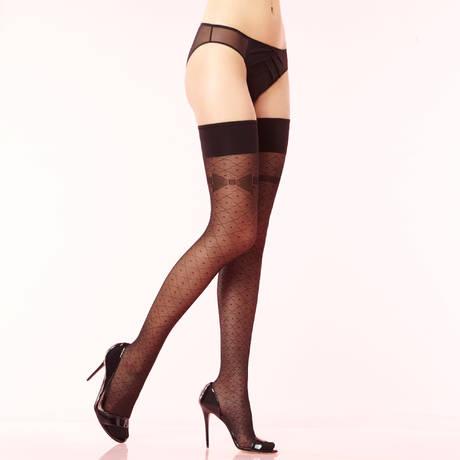 CHANTAL THOMASS Bas-up Mlle Les Bas et Collants Noir