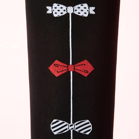 CHANTAL THOMASS Collant Noeuds Coquins Les Bas et Collants Noir