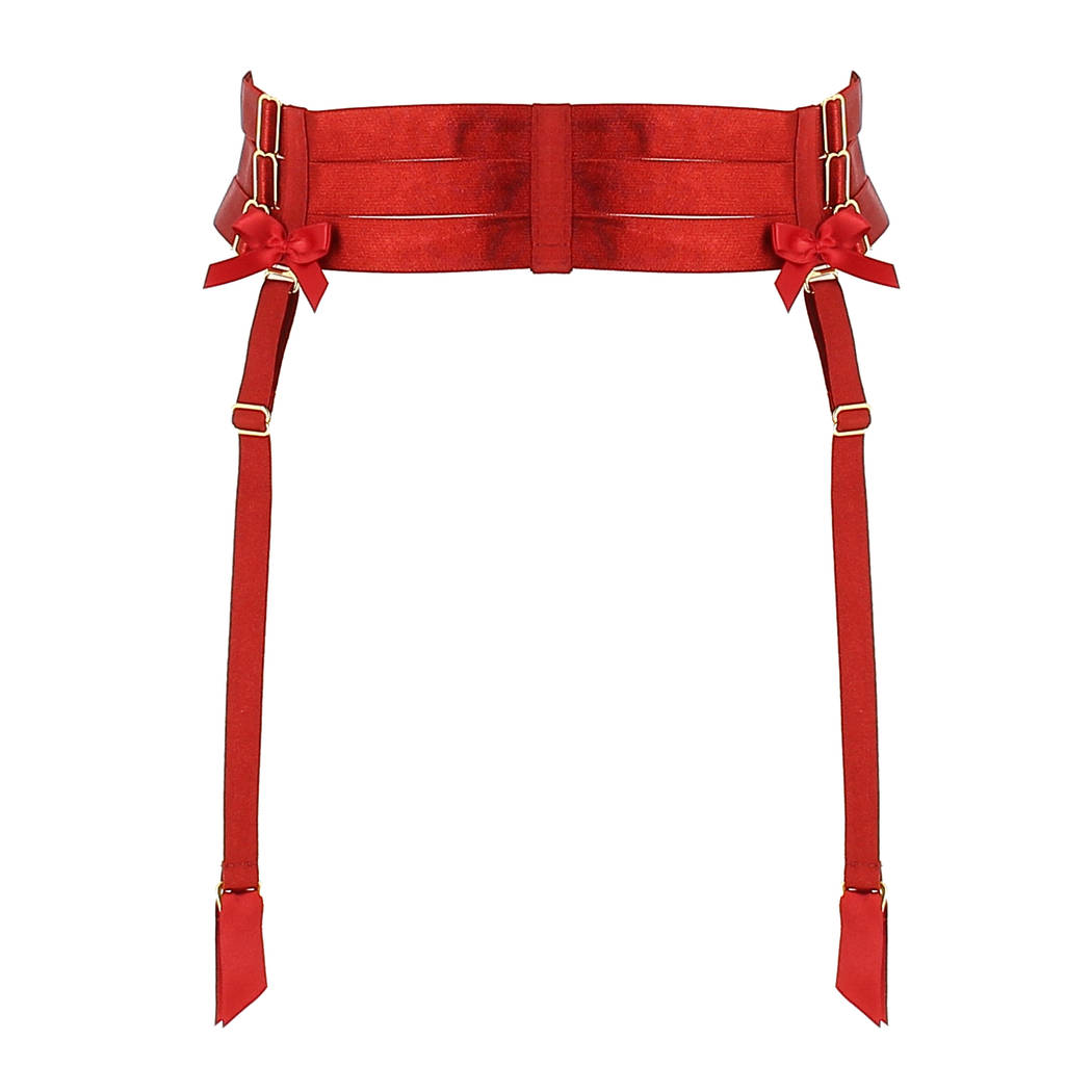 BORDELLE Porte-jarretelles Strap Signature Rouge