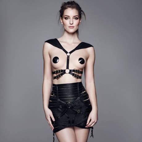 BORDELLE Harnais lingerie Signature Noir