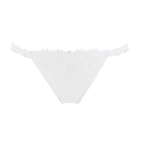 LISE CHARMEL String sexy Cristal d'Art Blanc