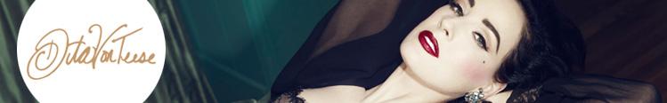 Lingerie Dita Von Teese Madame X Bleu