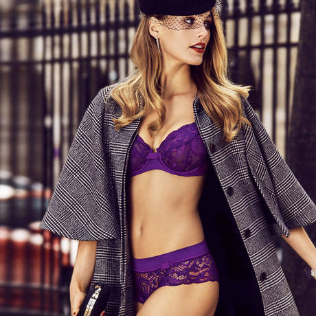 Soutien-gorge armatures emboîtant Piccadilly Violet