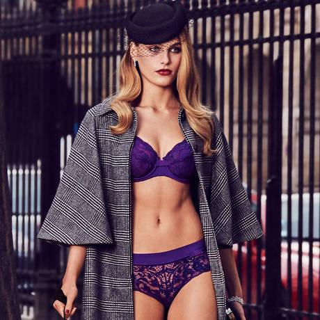 LOU Soutien-gorge armatures emboîtant Piccadilly Violet